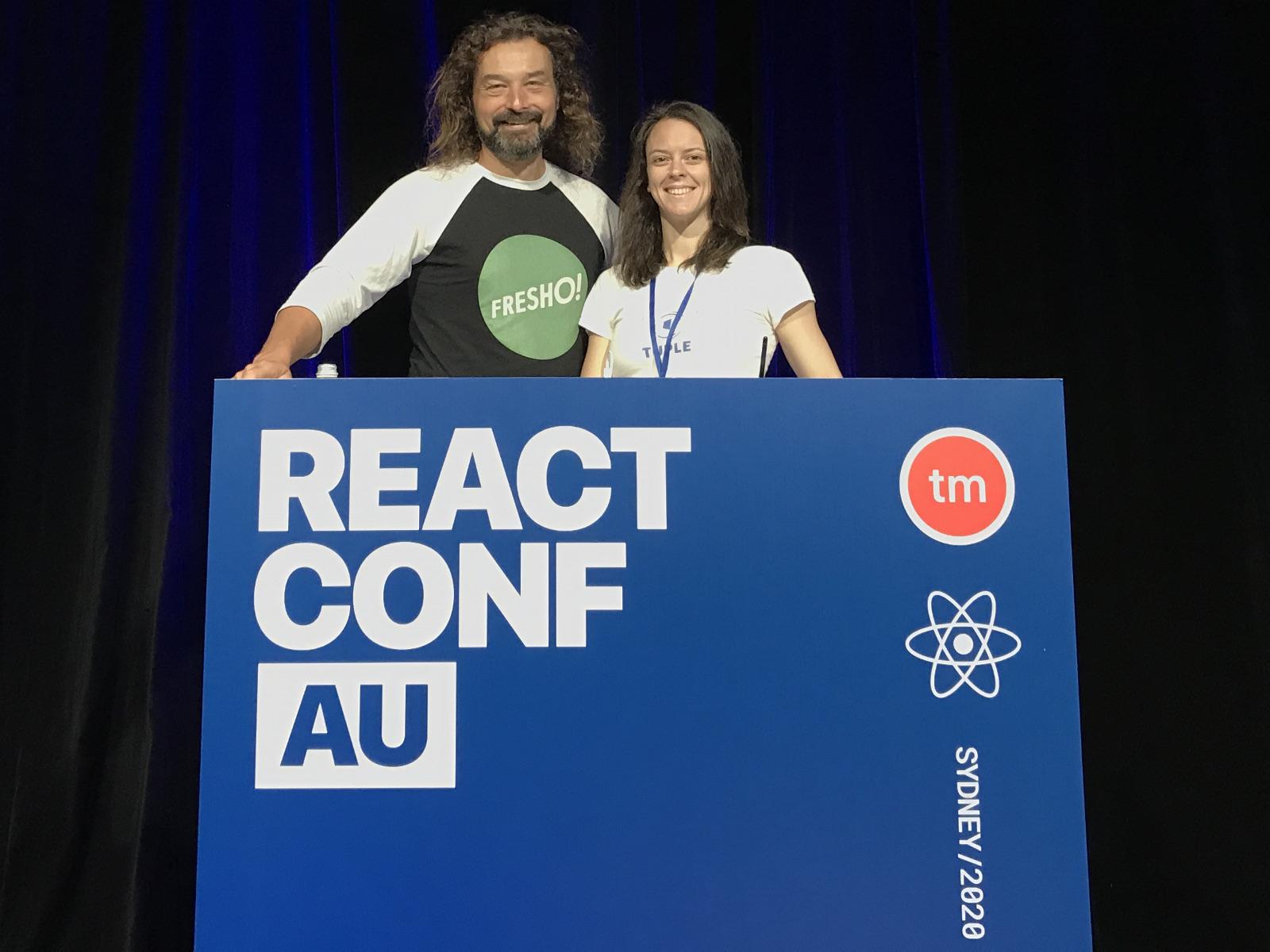 image from ReactConfAU 2020